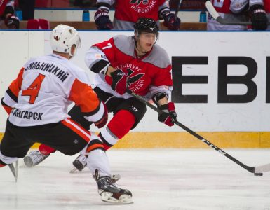 Хоккейный «Металлург» победил соперника из Ангарска