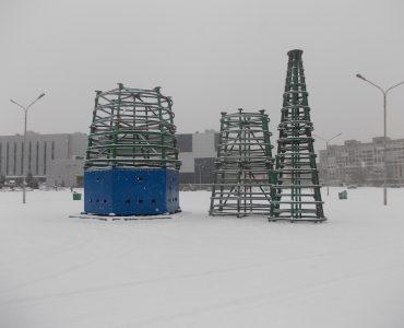 Новокузнецк начал готовиться к Новому году