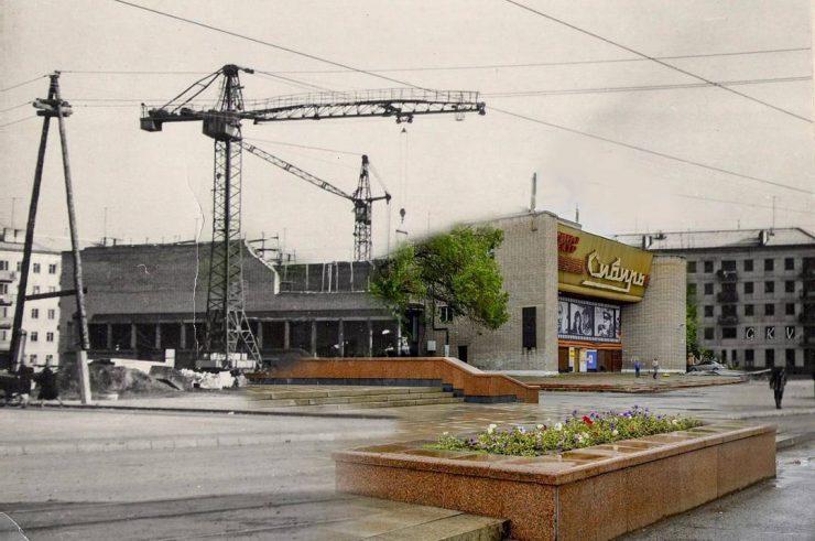 Фото Константина Горбунова. Сравнение эпох.