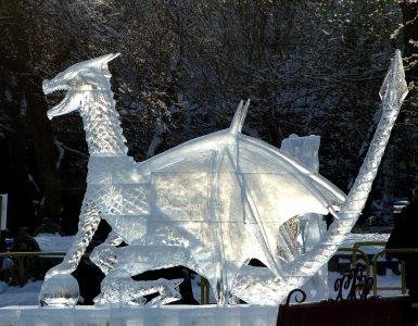 В Новокузнецке объявили конкурс ледяных скульптур