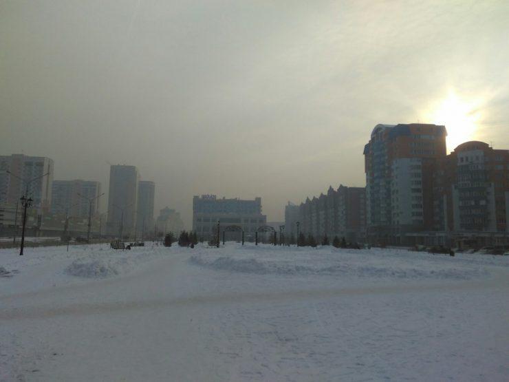 Режим неблагоприятных погодных условий введен вКузбассе