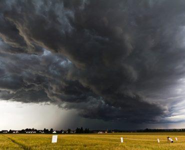 В Новокузнецке объявлено штормовое предупреждение