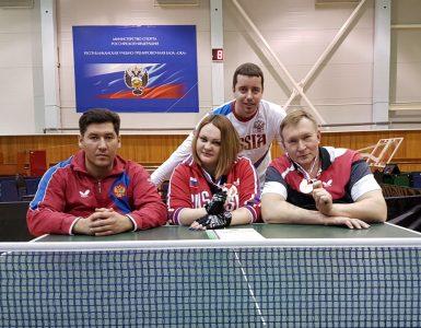 Теннисисты из Кемеровской области успешно выступили на чемпионате России