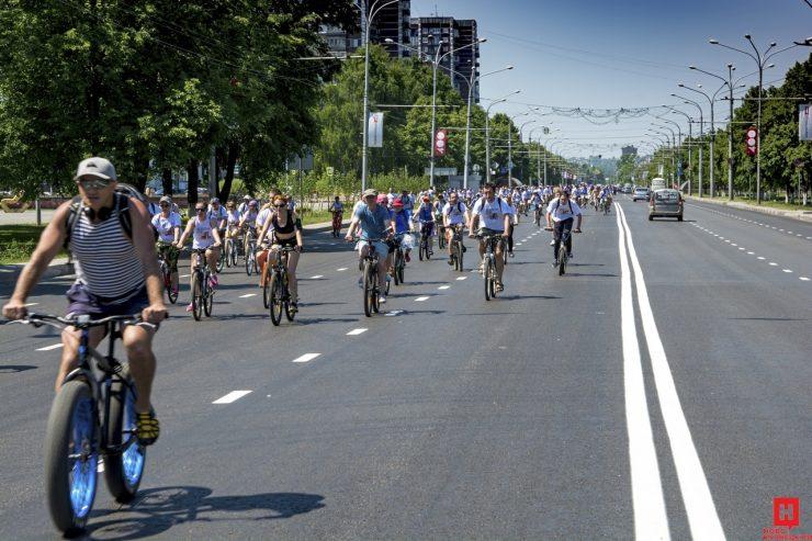 Фоторепортаж: «Велобум-2018» в Новокузнецке