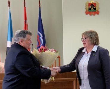 В Новокузнецком районе избрали председателя райсовета